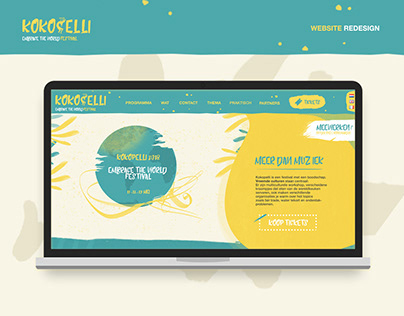 Kokopelli - website redesign