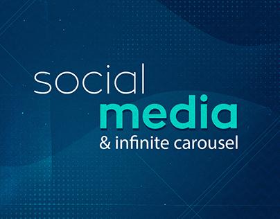 Social média - variedade de clientes