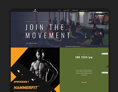 Website Design & Development | Fitness Studio