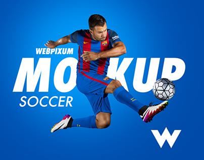 MLS Soccer Kit Mockups - FREE PSD