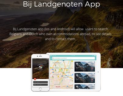 Bij Landgenoten - Travel app