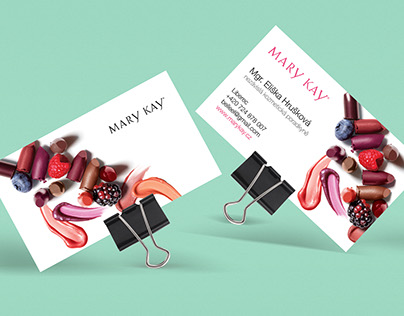 :: Mary Kay [personal business card]