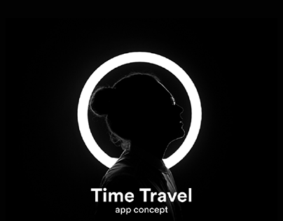 Time Travel Mobile App Concept
