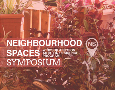 Neighbourhood Spaces Symposium Catalogue