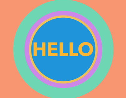 HELLO - Animated Text