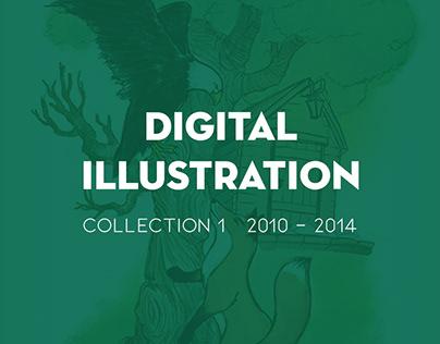 Digital Illustration 2010-2014