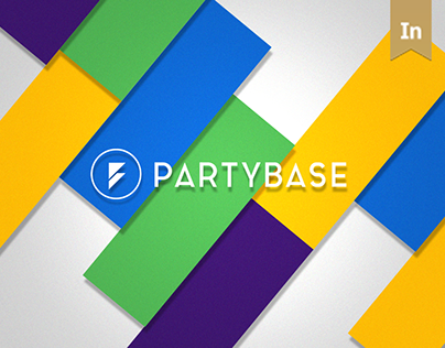 2015 UI/UX Design for PartyBase Web-Service