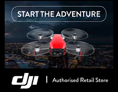 DJI Animated Web Banner