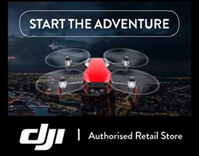 DJI Animated Web Banner