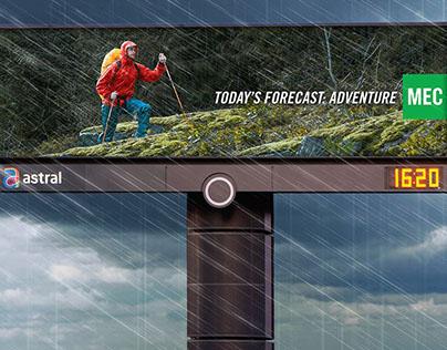 MEC Weather Triggered Billboards