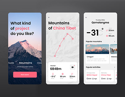 Mountain Challenge App