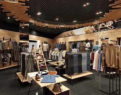 "Men's clothing store ""TOS"" Dream Town Kiev"