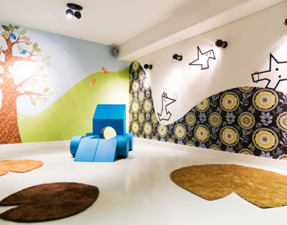 """Interior """"Blooming Hotel- Only for kids"""" Playroom"""