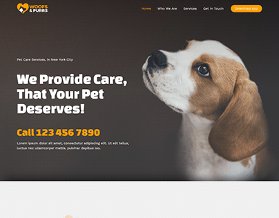 Astra business wordpress website