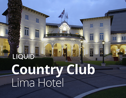 Country Club Lima Hotel Website