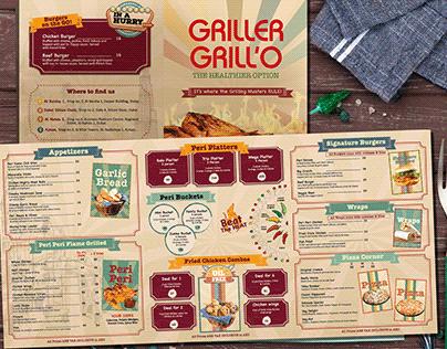 GrillerGrillo Dubai Menu