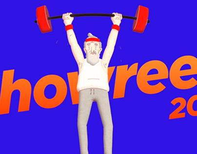 Animation showreel 2019