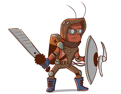 Tiny Rage - Game design and concept art