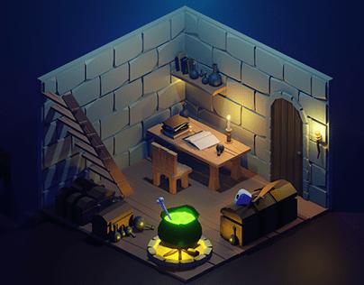 Witcher's Room