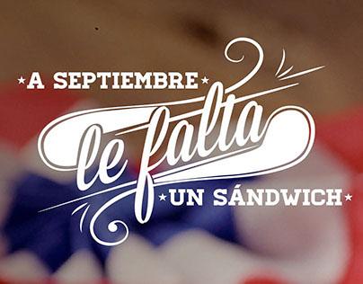 Dominó - A Septiembre le falta un Sándwich