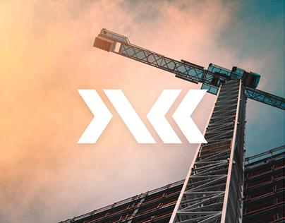 Logo for the construction company JSK