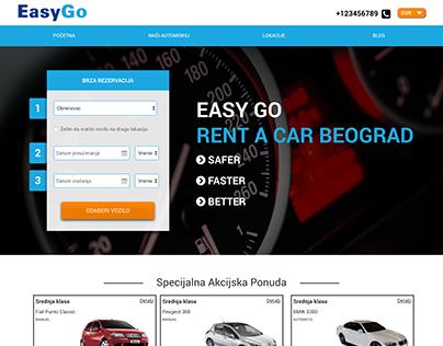 Car rental design and development