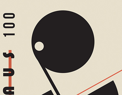 "Poster Design ""Bauhaus 100th Year"""