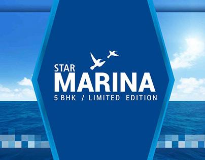 Branding for Star Marina 5BHK - Surat