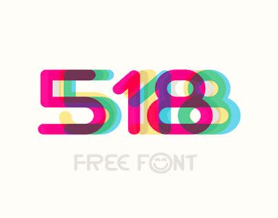 518 - FREE FONT