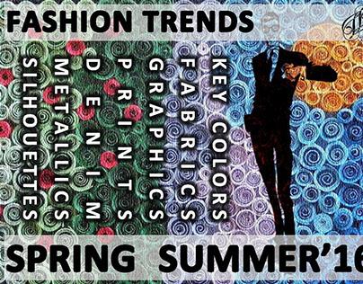 MEN'S FASHION TREND FOR SPRING SUMMER 2016