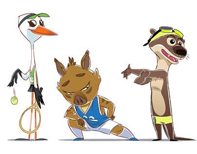 Odemira Mascots