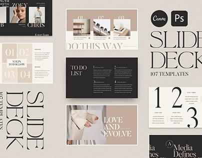 Slide Deck and Webinar