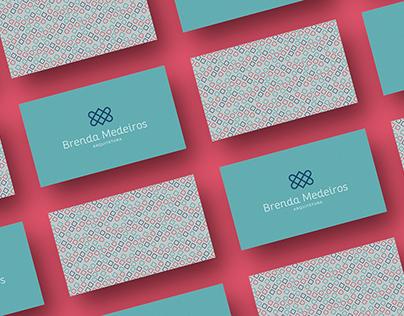 Brenda Medeiros - Arquitetura (Visual Identity)