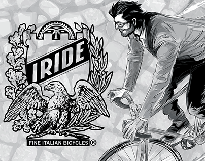 IRide Bicycle Co.: Illustration and Graphic Design