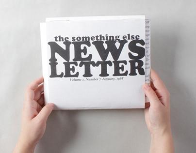 Something Else Newsletter