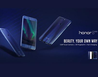 Honour 8C Pre launching banner