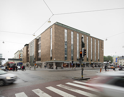 Medborgarhuset renovation