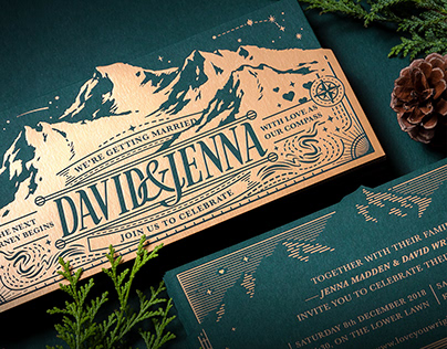 D&J WEDDING CARD