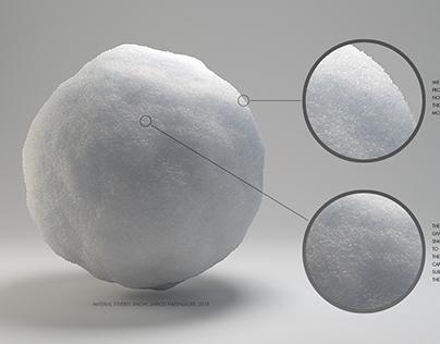 Material Studies: Snow