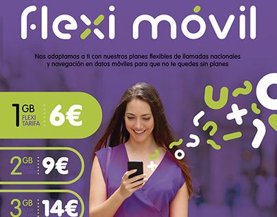 Flexi Movil Lanzamiento marca España