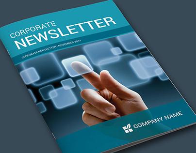 Newsletter Template Design!