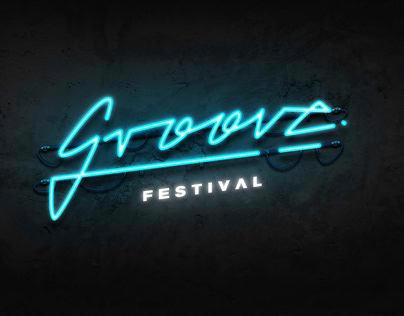 Groove Festival Branding