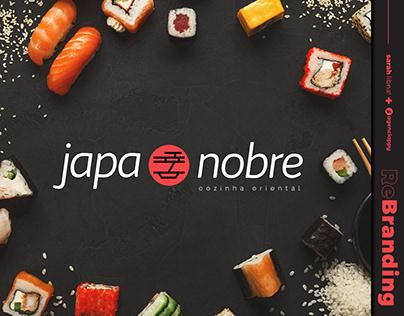 Rebranding Japa Nobre - Cozinha Oriental