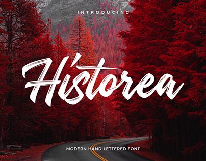 Free Historea Modern Handlettering Font