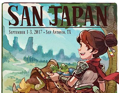 San Japan X (2017) Program and Schedule Books