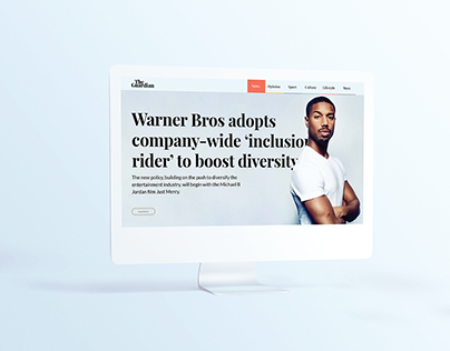 The Guardian Redesign