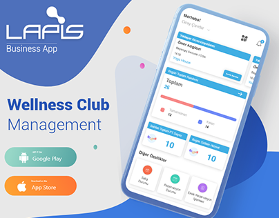 Wellness Club Management App
