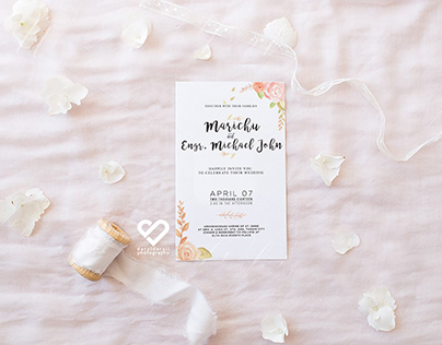 Wedding Invitation Layouts