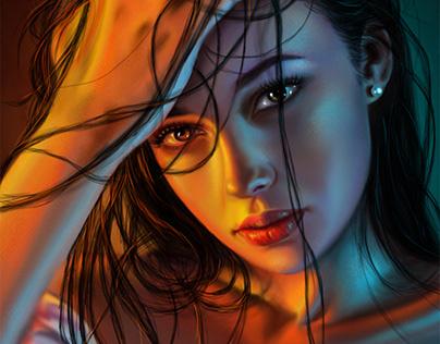 digital painting 13\8\2019