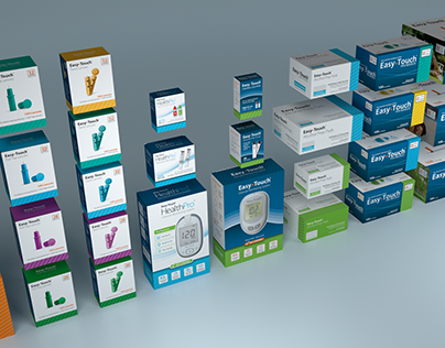 EasyTouch Diabetic Products - Packaging & Branding